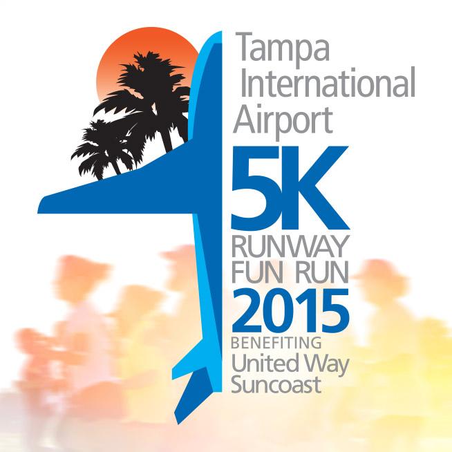 Tampa Airport 5k Runway Fun Run 2015