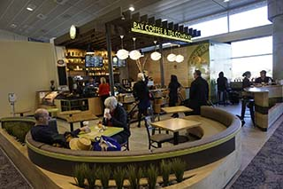 Bay Coffee and Tea Company on Airside A