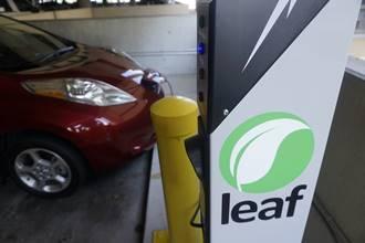 LEAF charging station