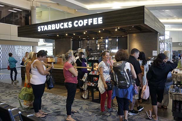 Starbucks moves in Airside E