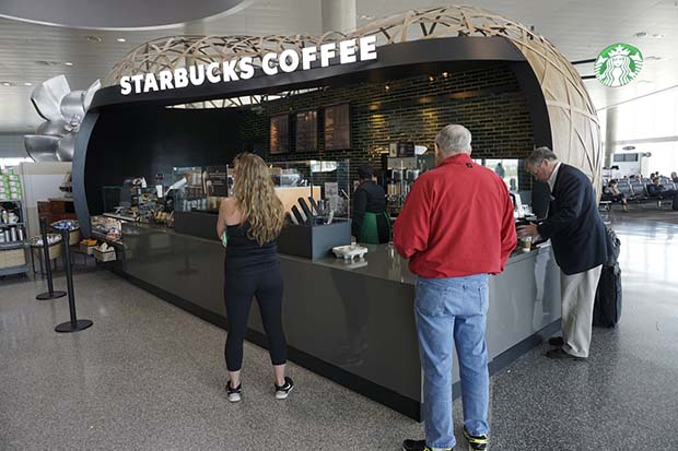 New Starbucks open on Airside C
