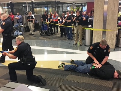 TIAPD Active Shooter training