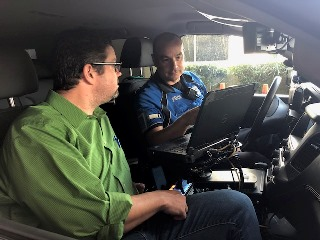 TIAPD ride along
