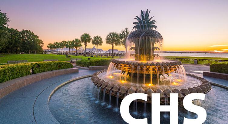 Charleston airport code