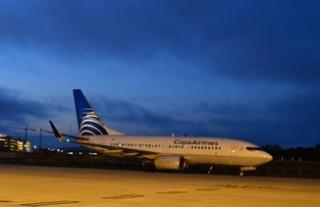 Copa plane at TPA