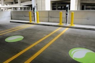 EV charging station LTPG