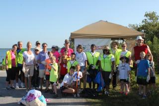 Great American Clean up team from TPA