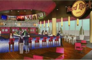 Rendering of Hard Rock Cafe at TPA