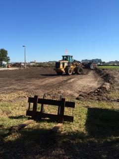 Land cleared for trailer city at TPA